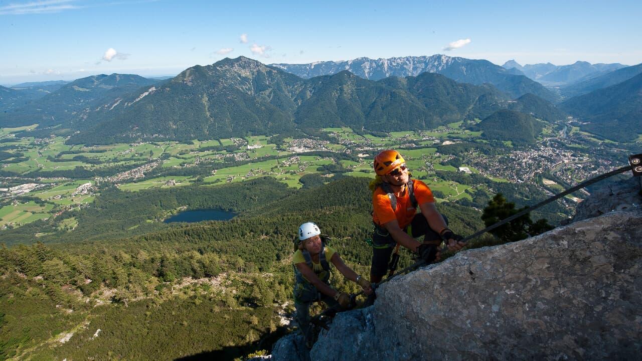 Klettersteig Katrin : Katrin klettersteig