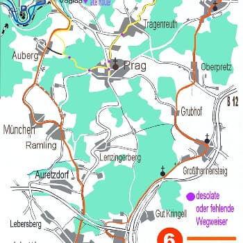 Rundweg Hutthurm - Niederpretz - Leopiermühle - Ramling - Hutthurm