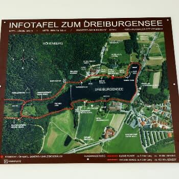 Dreiburgensee - Wanderweg Nr. 11