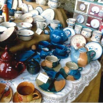 Kunterbunte Keramik