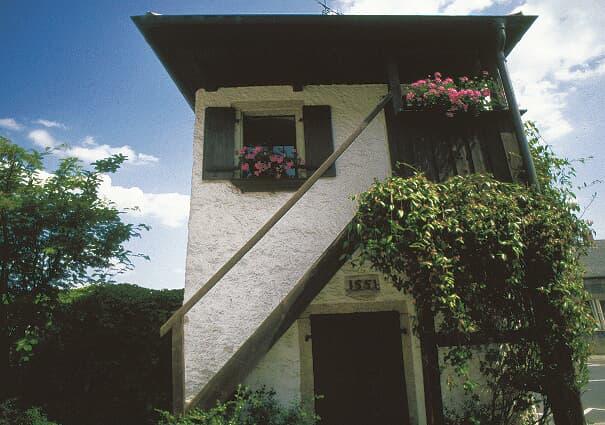 Stadtmauertürmchen und Innenhof