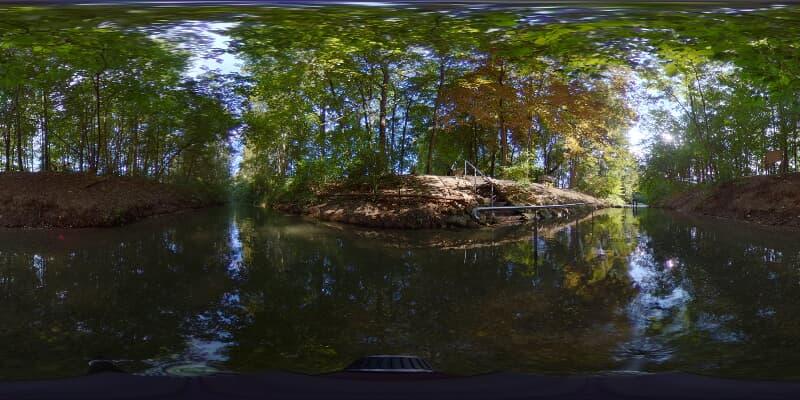 Natur-Kneippanlage an der Donau