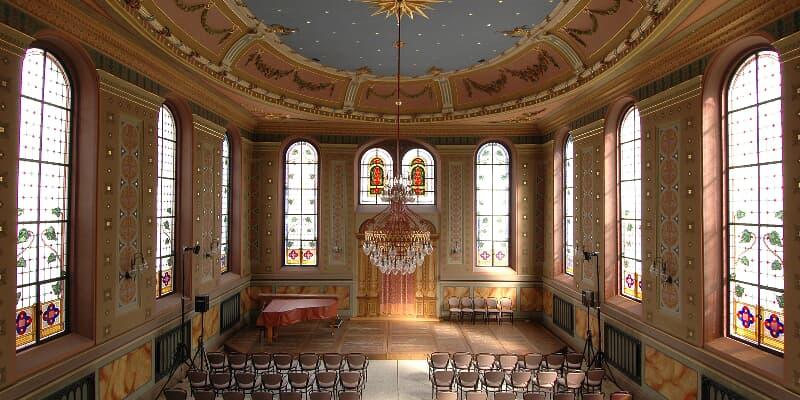 Synagoge von Innen