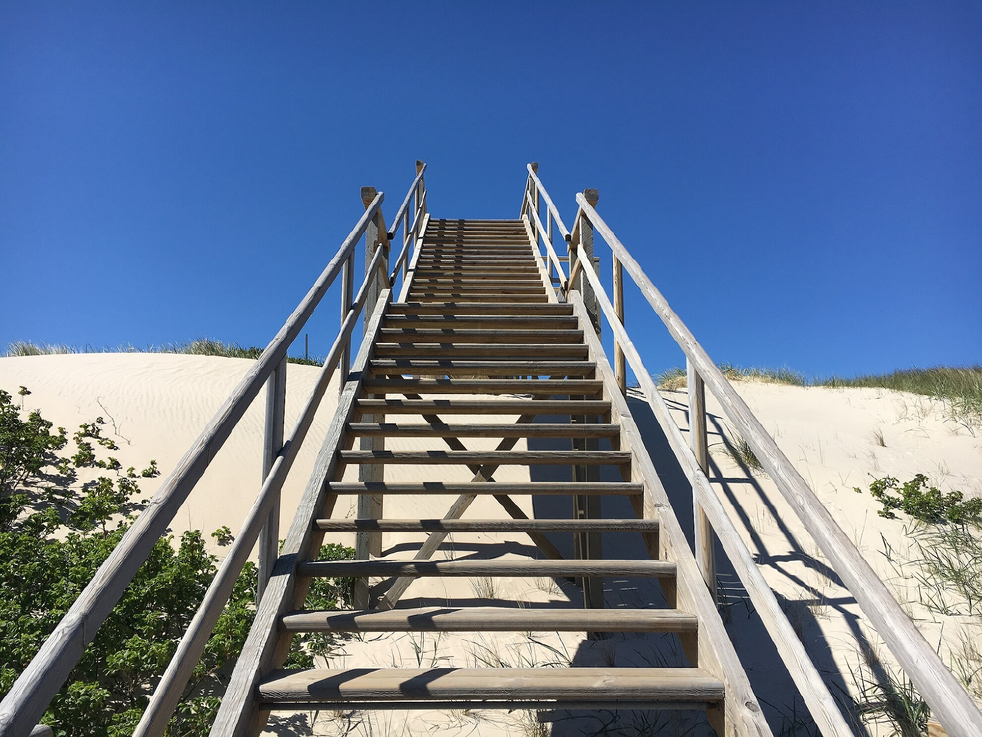 Strandtreppe am S-Point