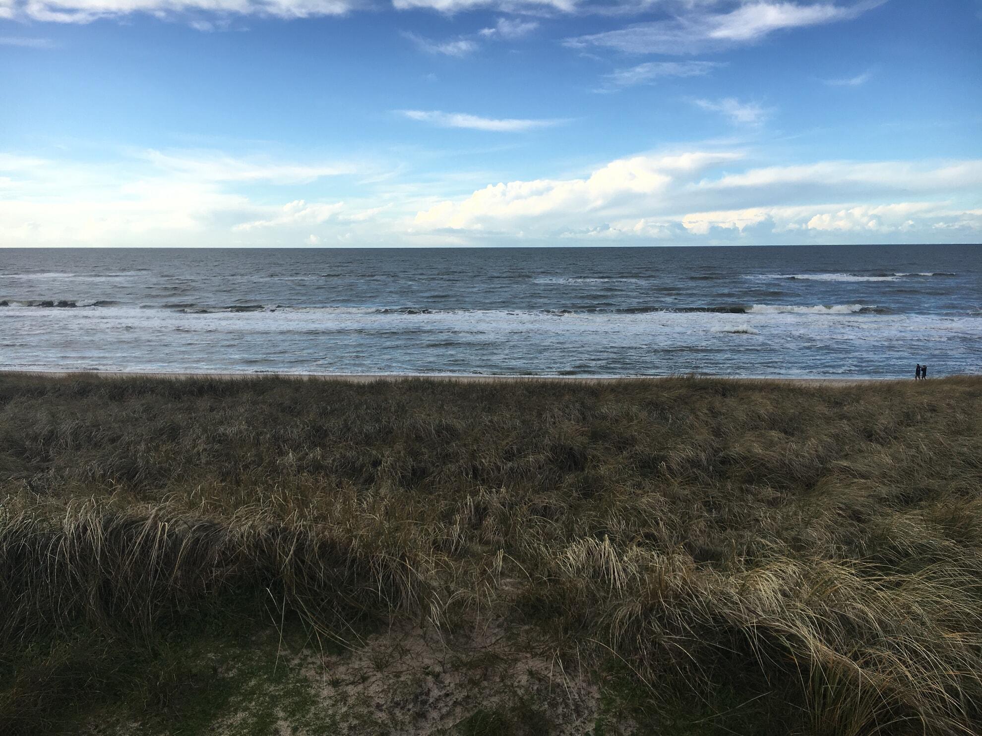 aufgewühlte Nordsee im Winter