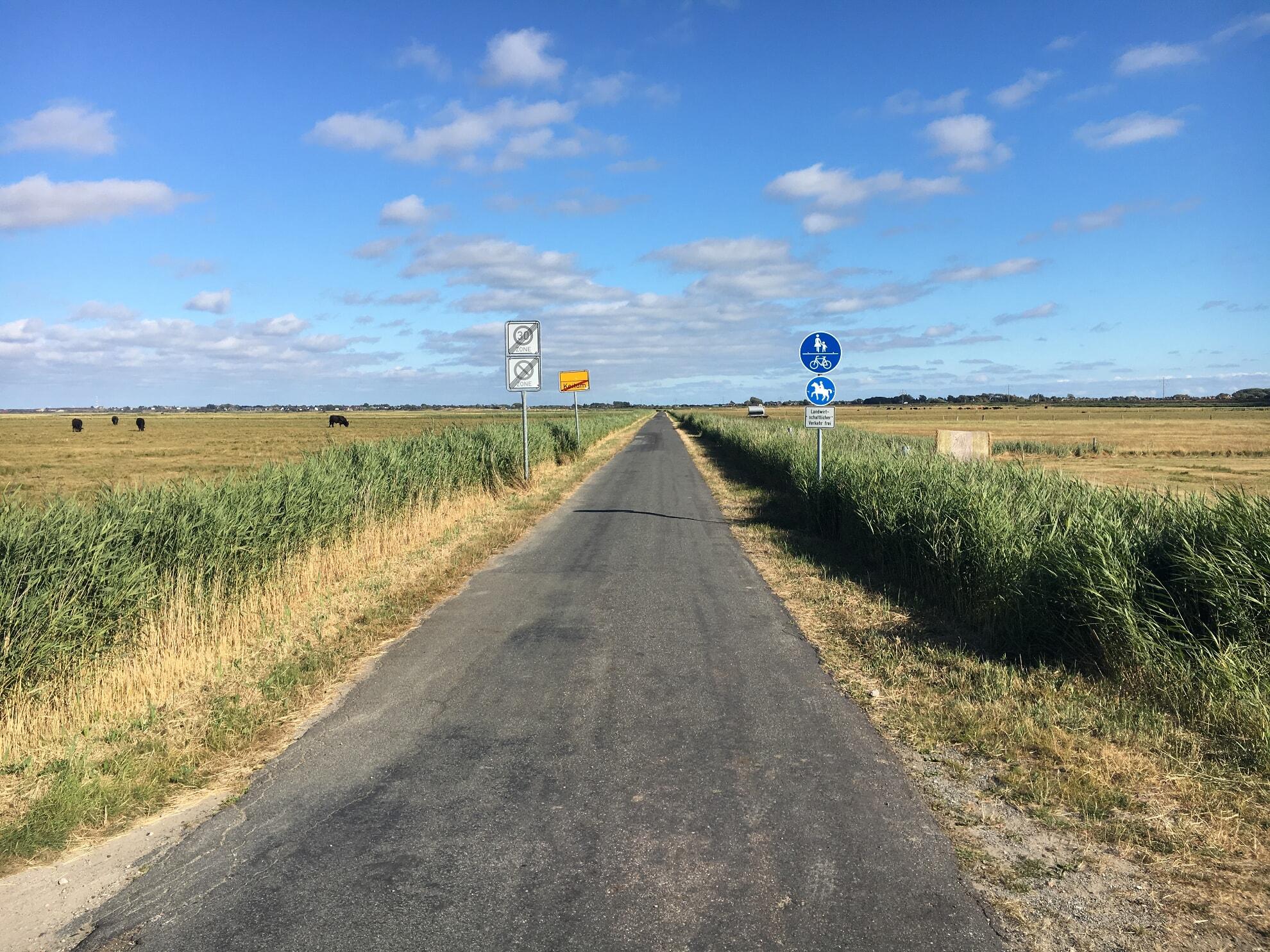 autofreier Weg nach Morsum