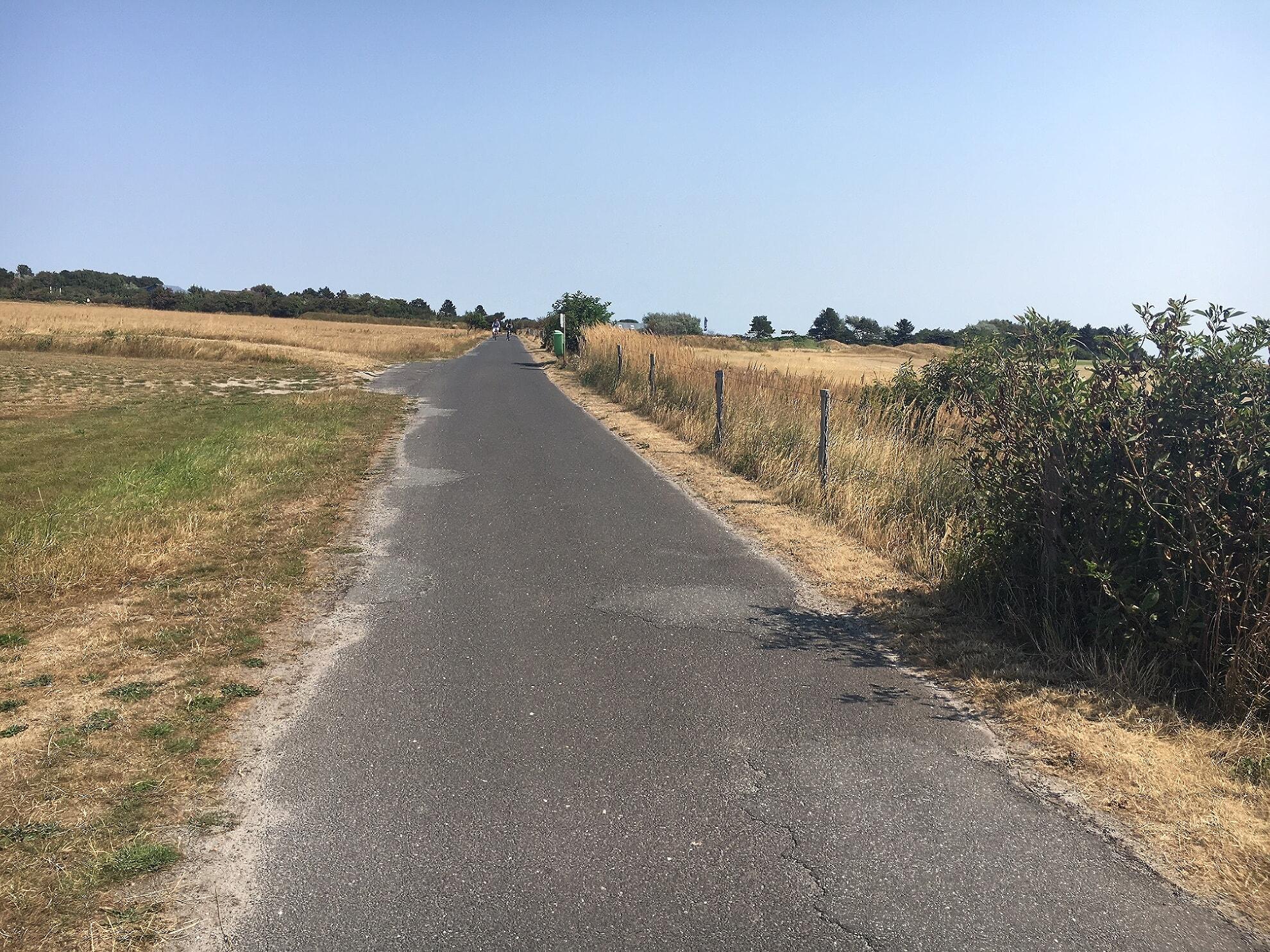 Weg zwischen Wenningstedt und Braderup