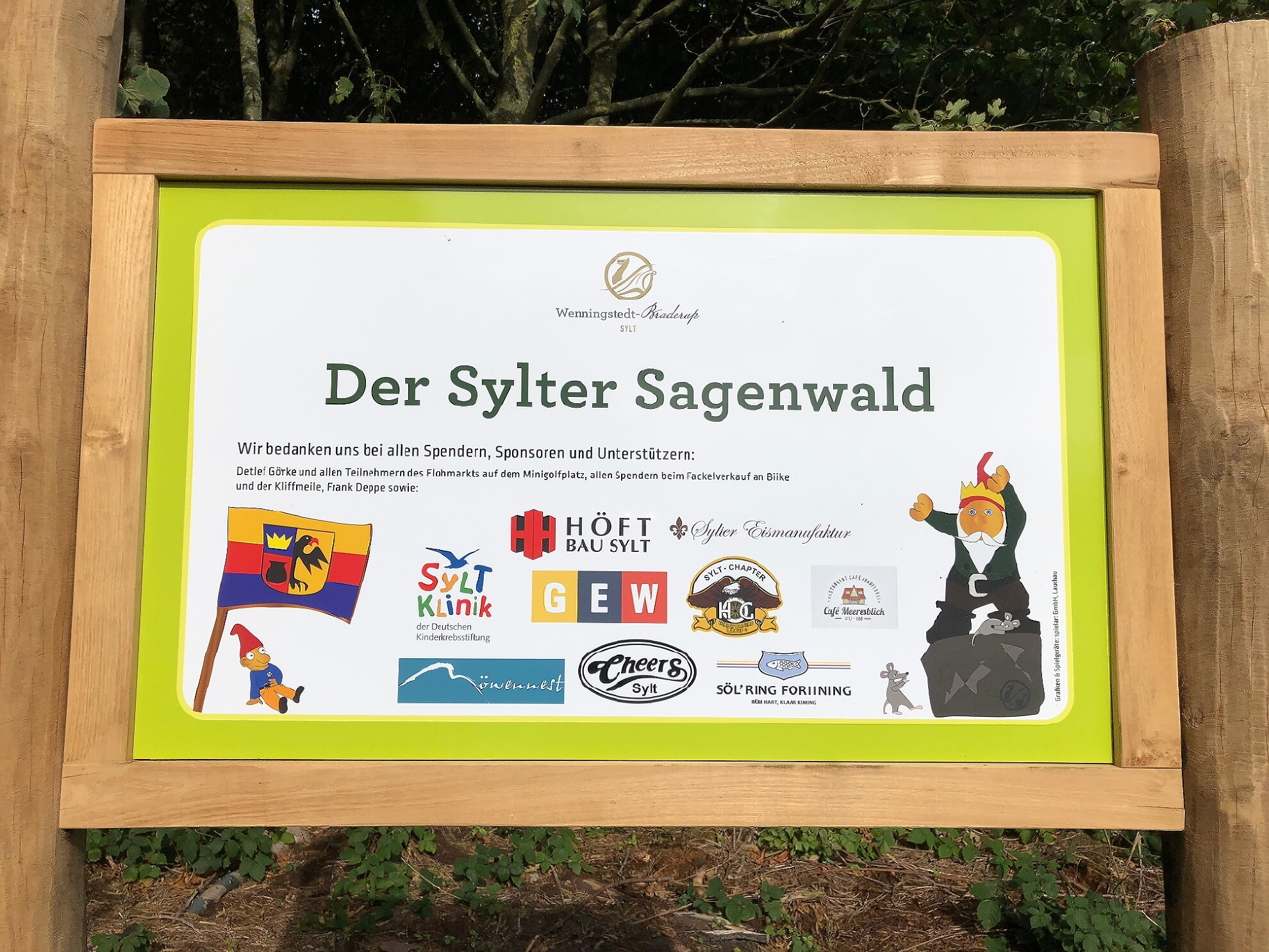 Sylter Sagenwald in Wenningstedt