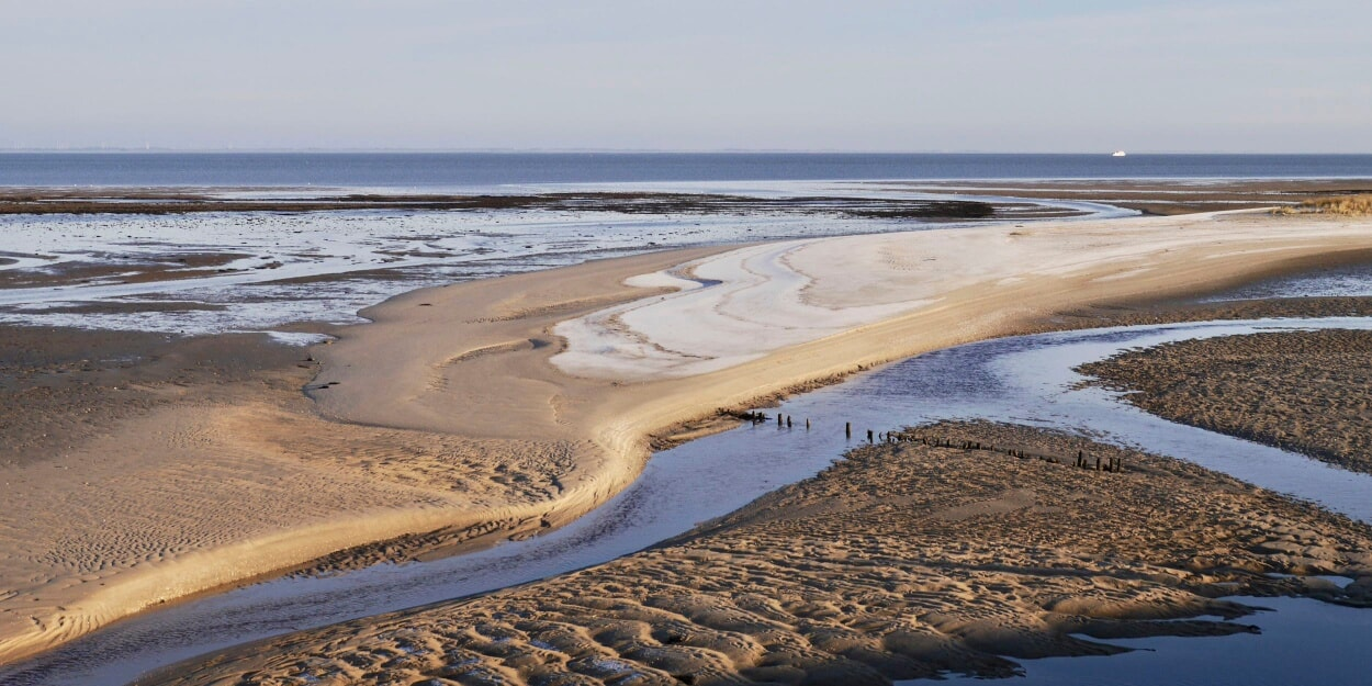 Sand und Watt sind ständig in Bewegung.