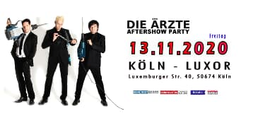 DIE ÄRZTE AFTERSHOW PARTY - FAN MEETING IN KÖLN