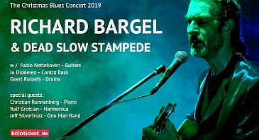 Richard Bargel - Christmas Blues Concert 2019