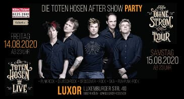 DIE TOTEN HOSEN AFTERSHOW PARTY - FAN TREFFEN, Köln