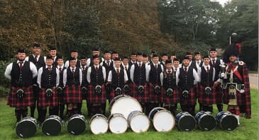 20 Jahre - Nutscheid Forest Pipe Band - Live in Concert