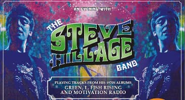 The Steve Hillage Band & Gong - Einziges Konzert in Deutschland