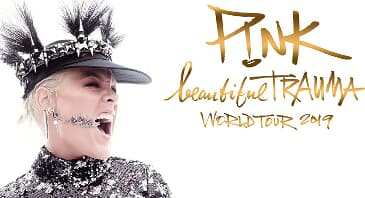 P!NK - Beautiful Trauma World Tour 2019