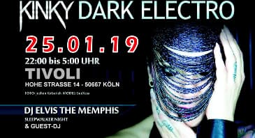 KINKY DARK ELECTRO - THE NEXT GENERATION OF FETISH PARTY