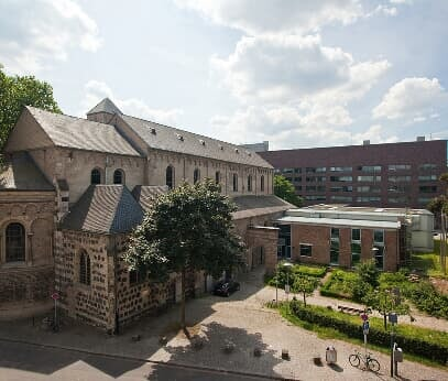 The Museum Schnütgen houses an important collection of medieval art