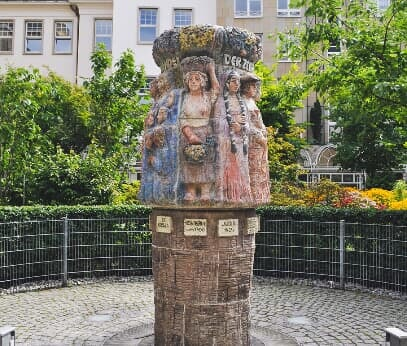 Women's Fountain in Cologne