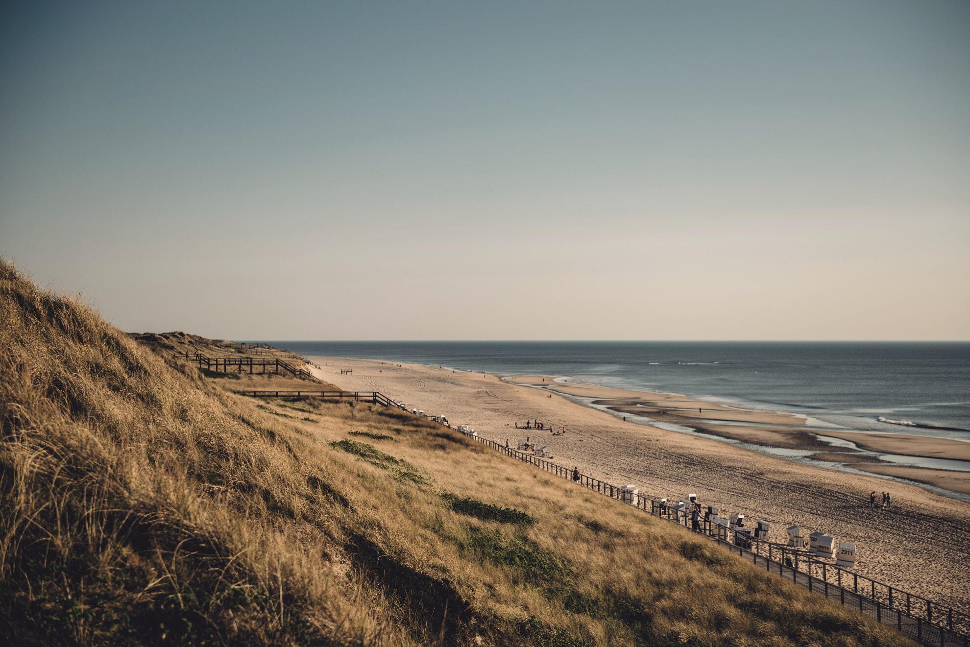 Strandausblick