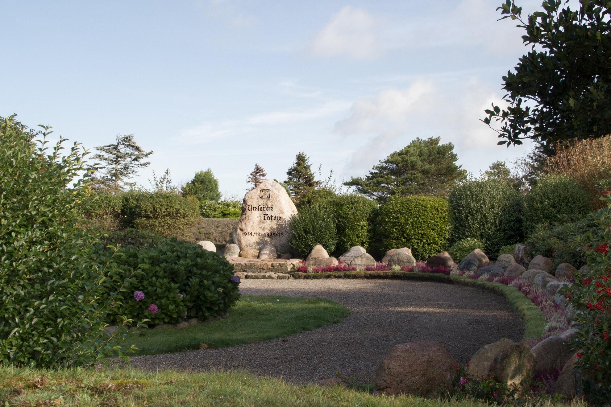 Ehrenfriedhof in Wenningstedt