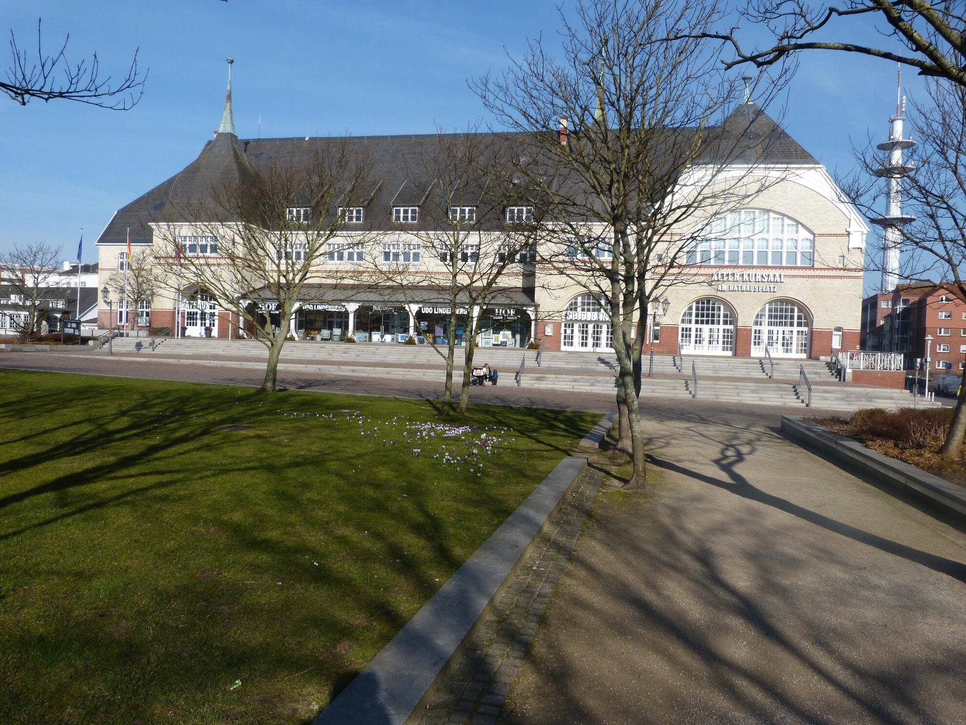 Rathauspark im Frühling