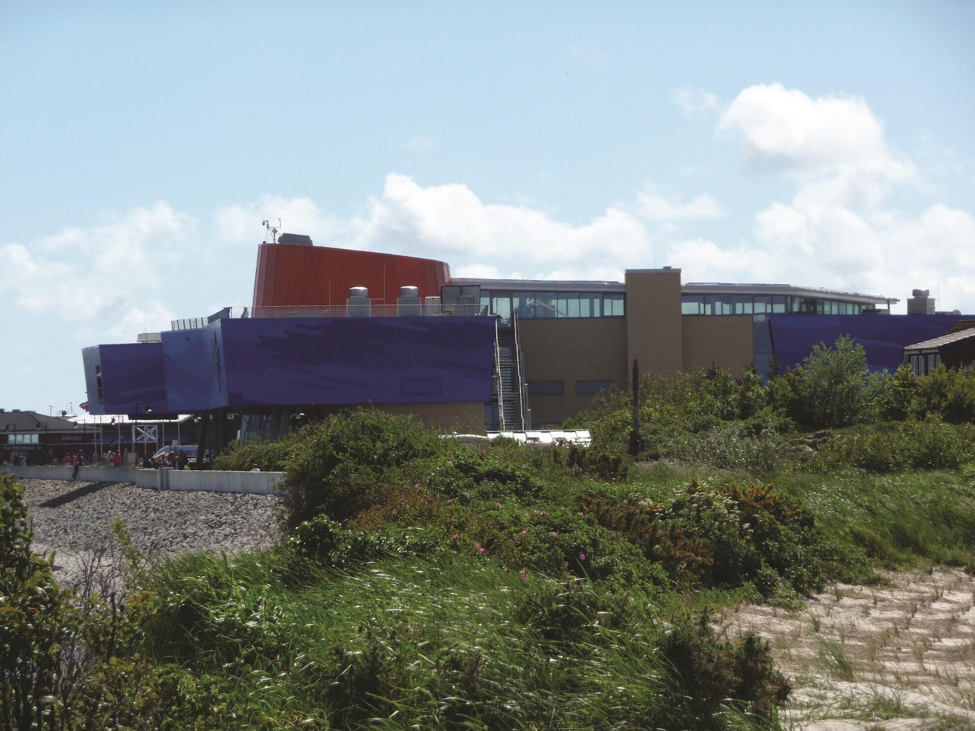 Das Erlebniszentrum Westseite