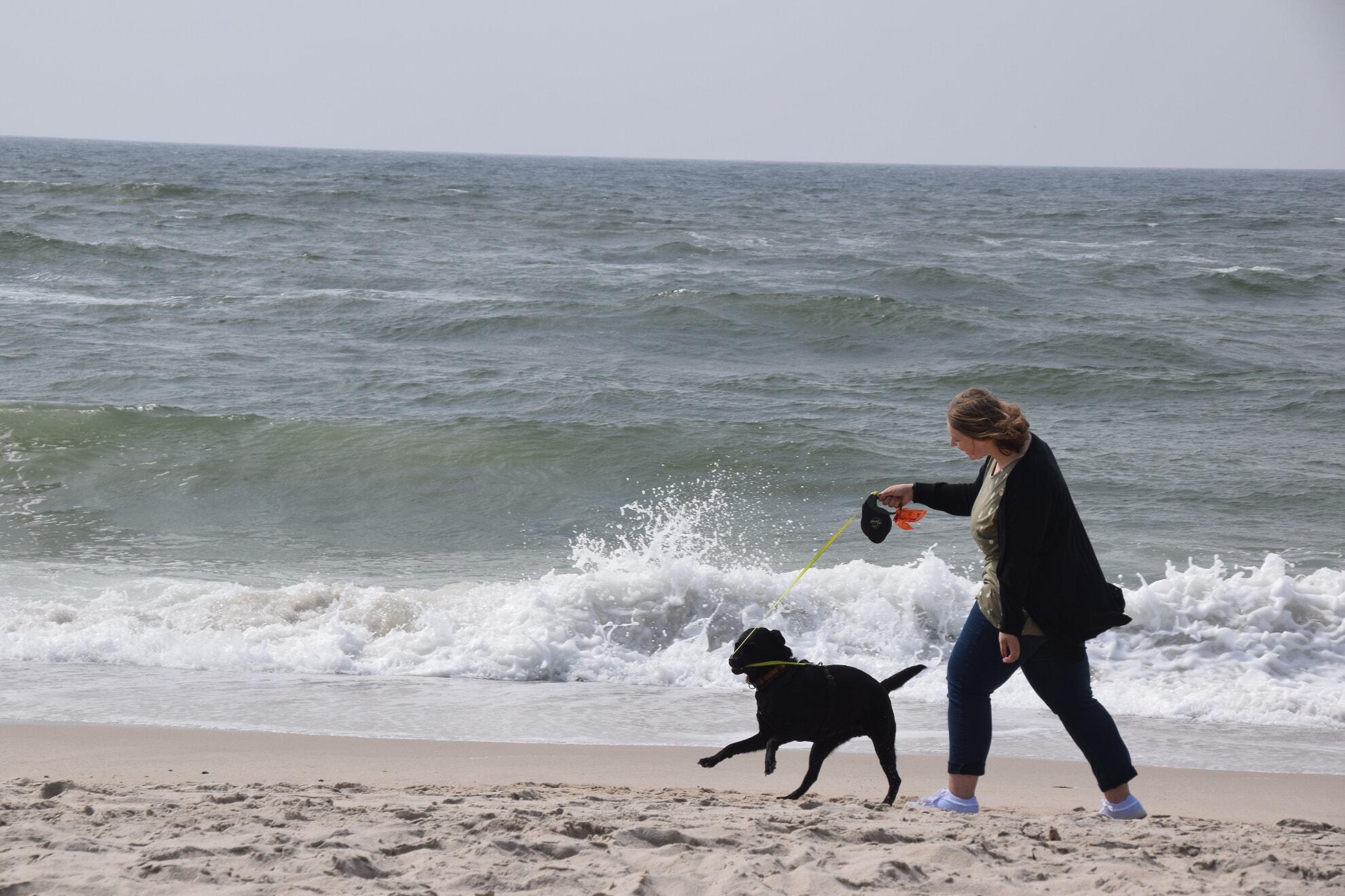 Spaß haben am Strand