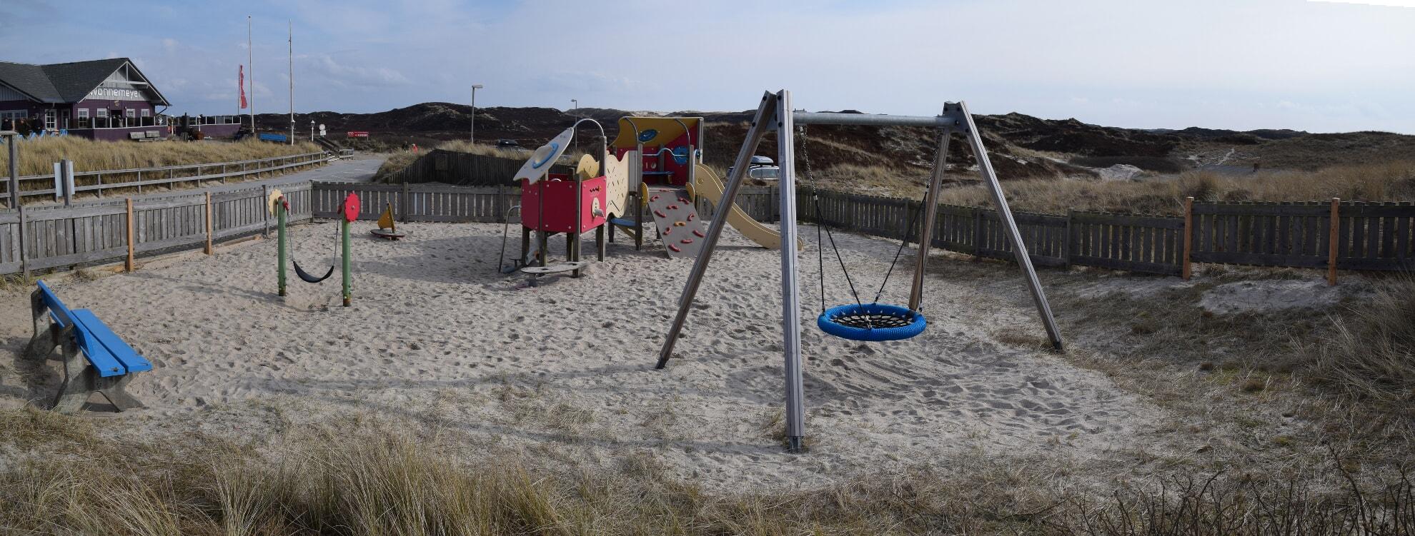 Spielplatz am Weststrand