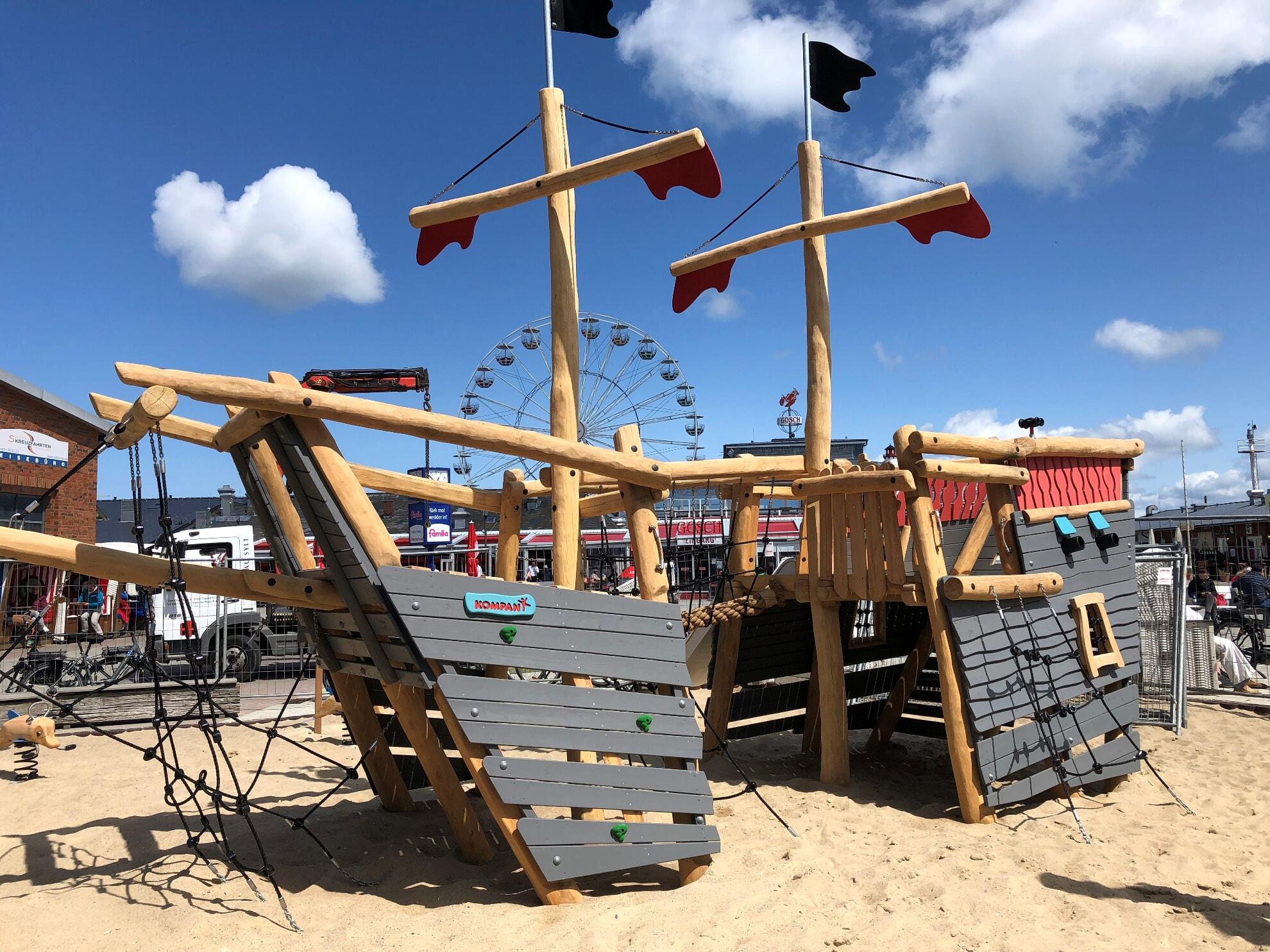 Spielplatz am Lister Hafen