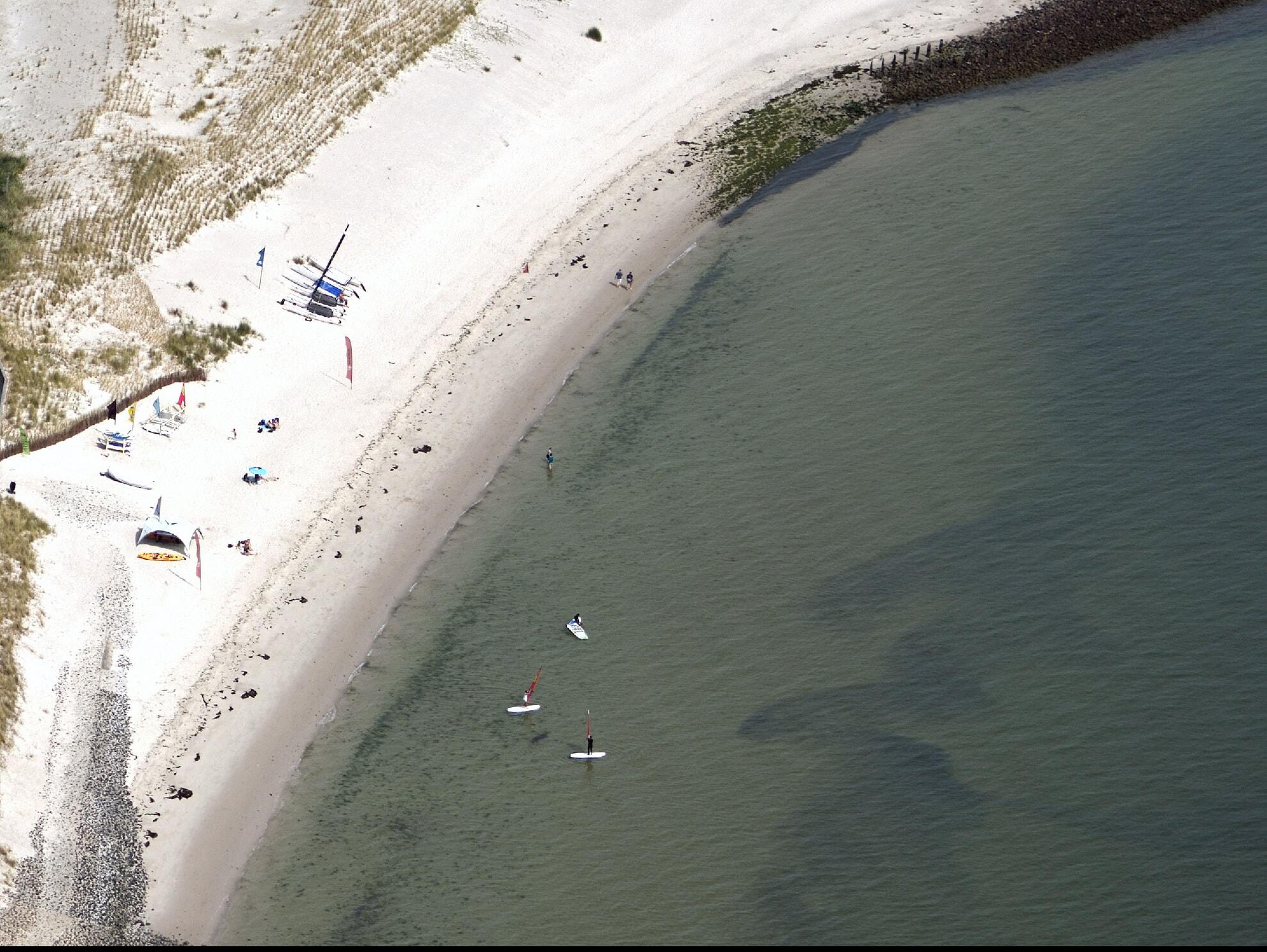 Surf- und Kiterevier - Strandübergänge 140 & 141