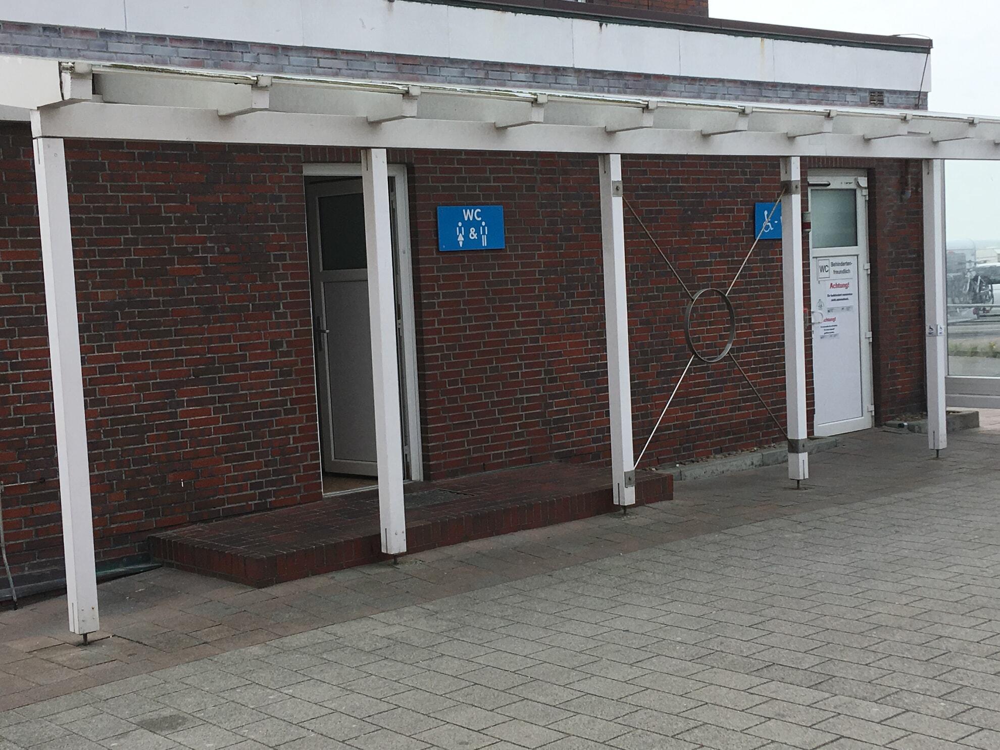 Toiletten am Lister Hafen