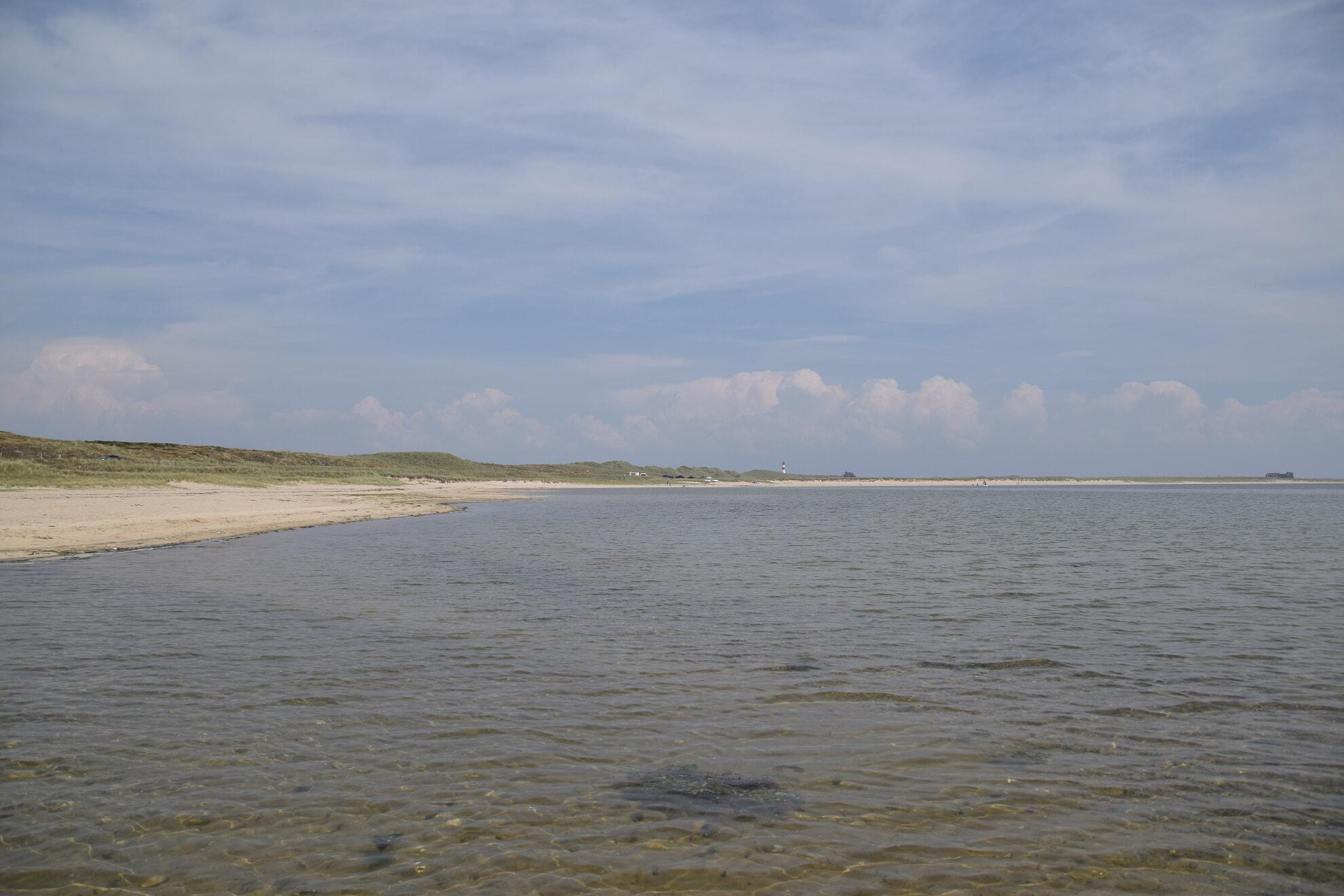 Blick von der Bucht aus