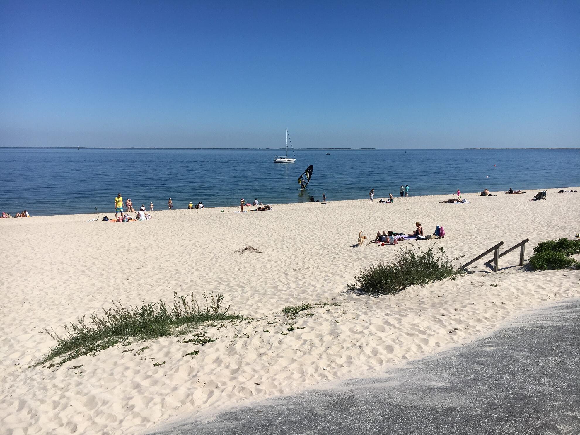 Surfen am Hörnumer Oststrand