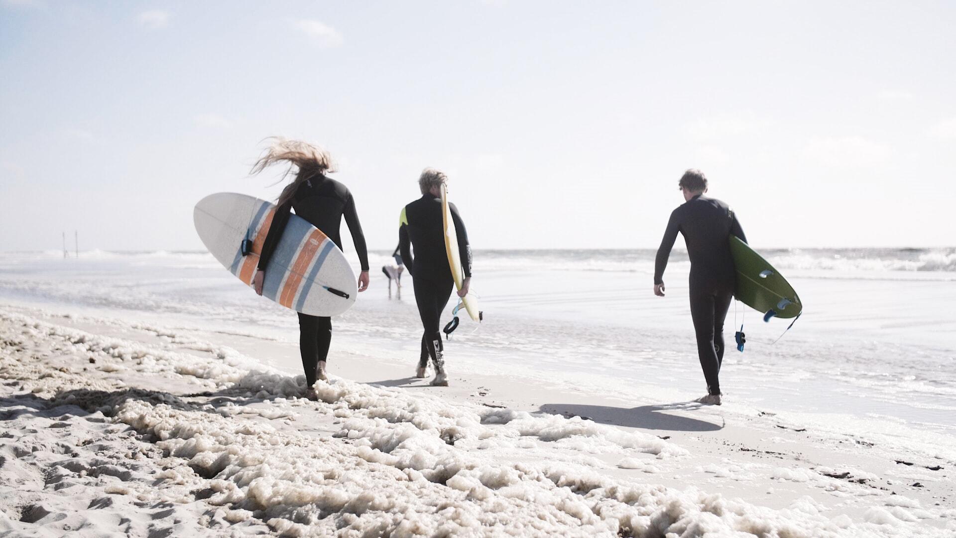 Wellenreiten mit Südkap Surfing