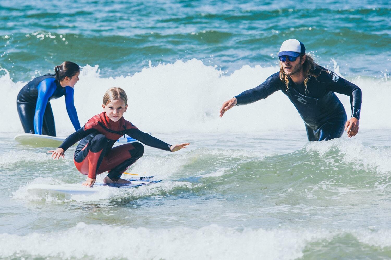 Wellenreiten für Kinder