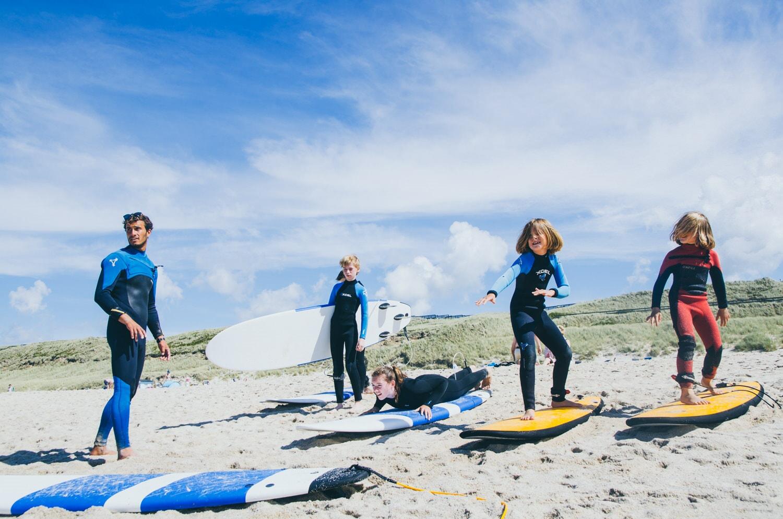 Kidskurs Wellenreiten