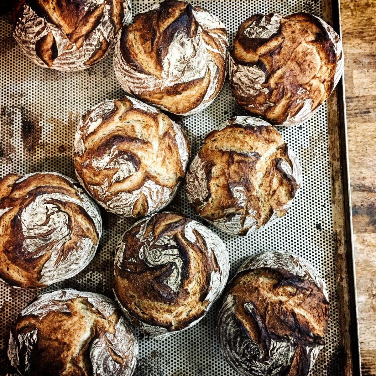 Steinofen Brot der Bäckerei Lund