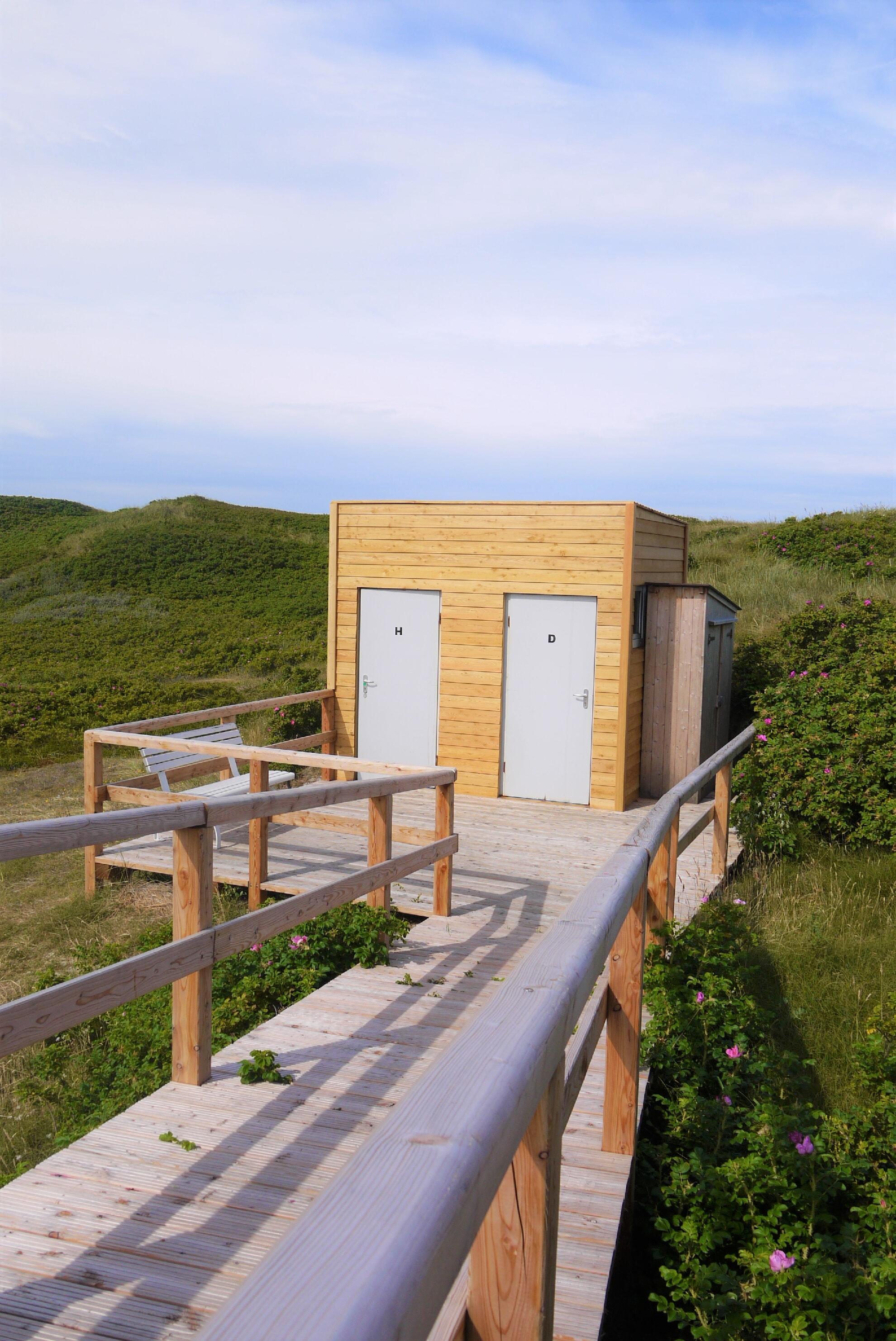 Öffentliche Toilette Gurtdeel in Hörnum Nord