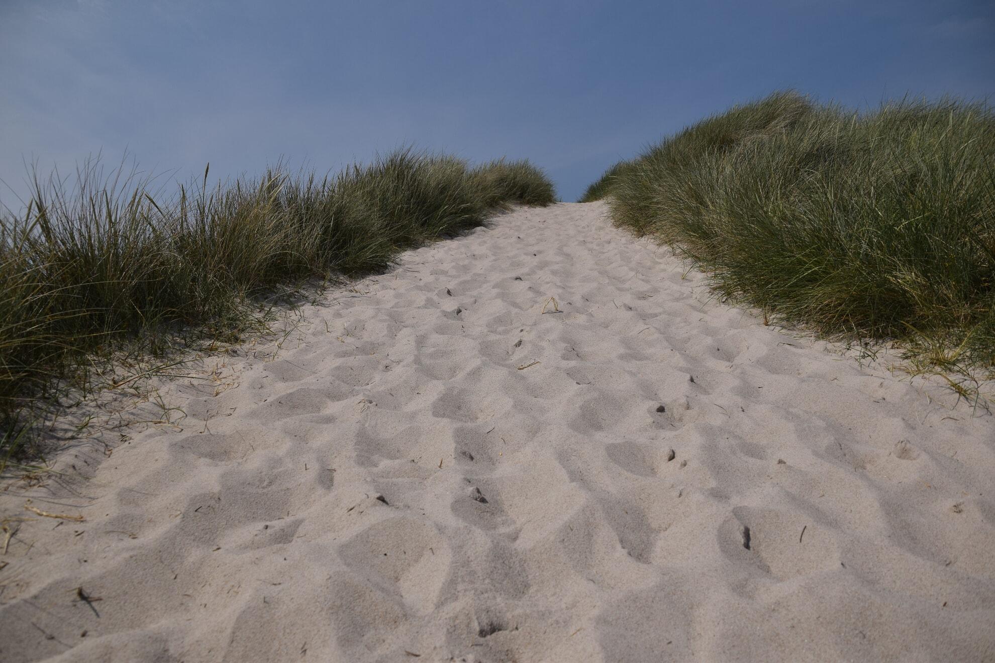 Strandübergang am Ellenbogen