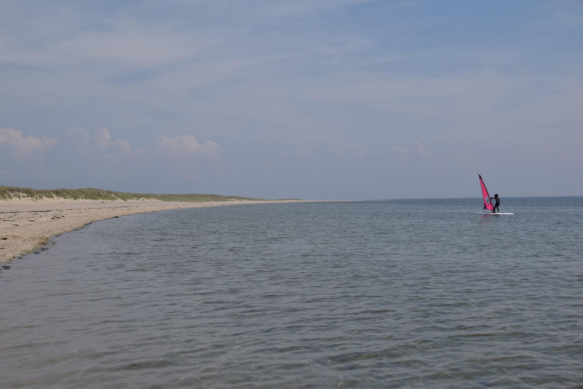 Windsurfen am Ellenbogen