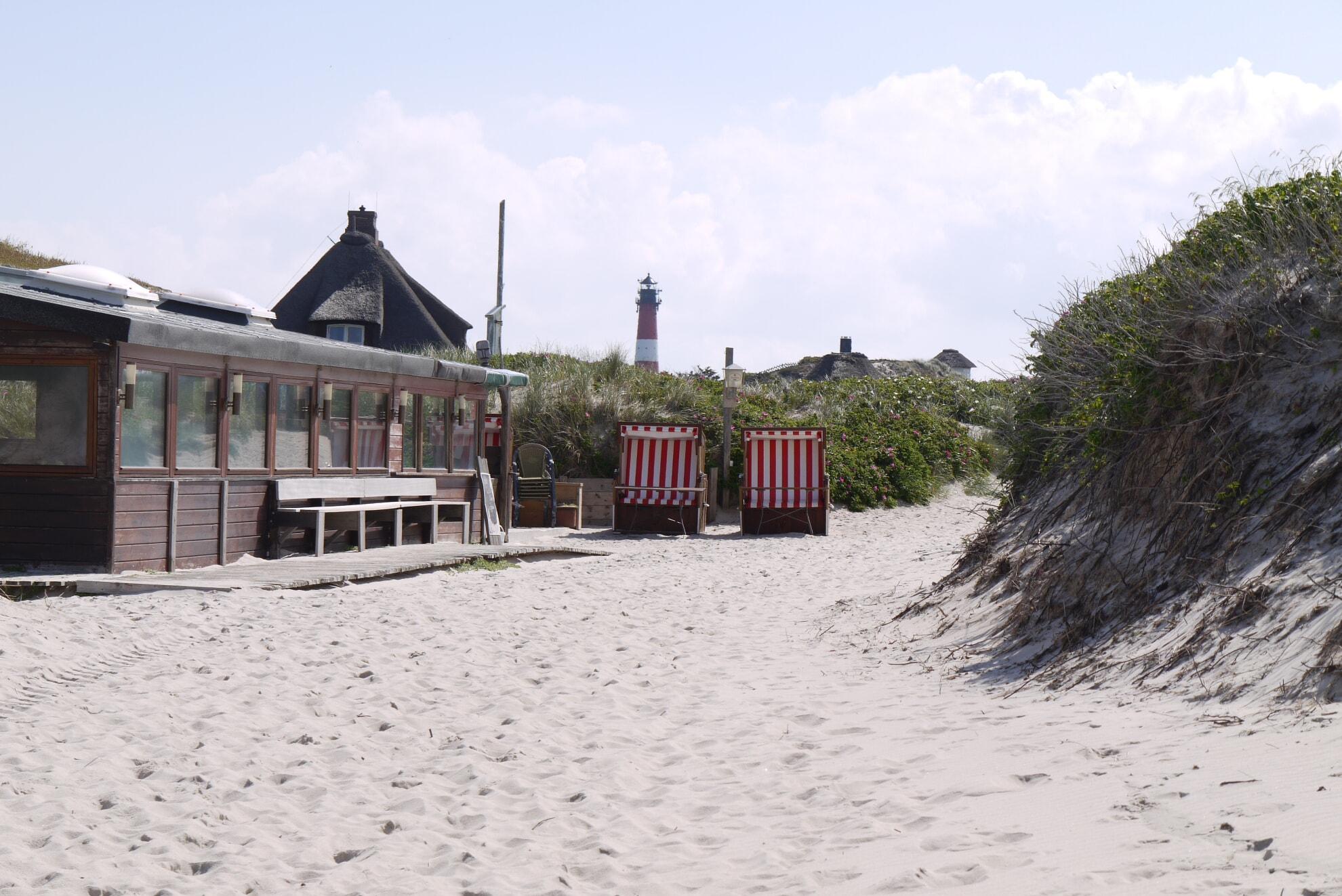 barriererfreier Strandübergang