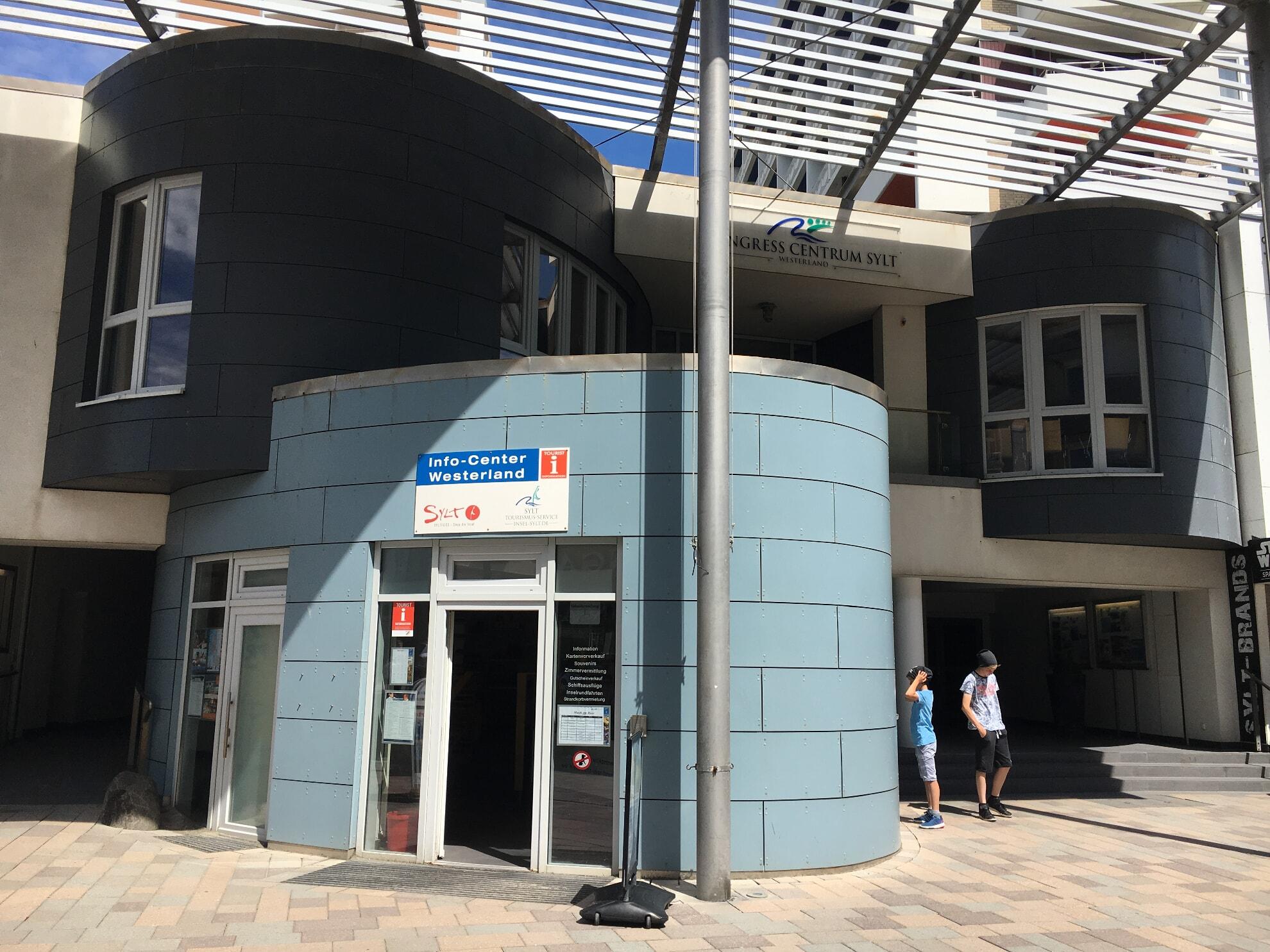 Info-Center in der Friedrichstraße