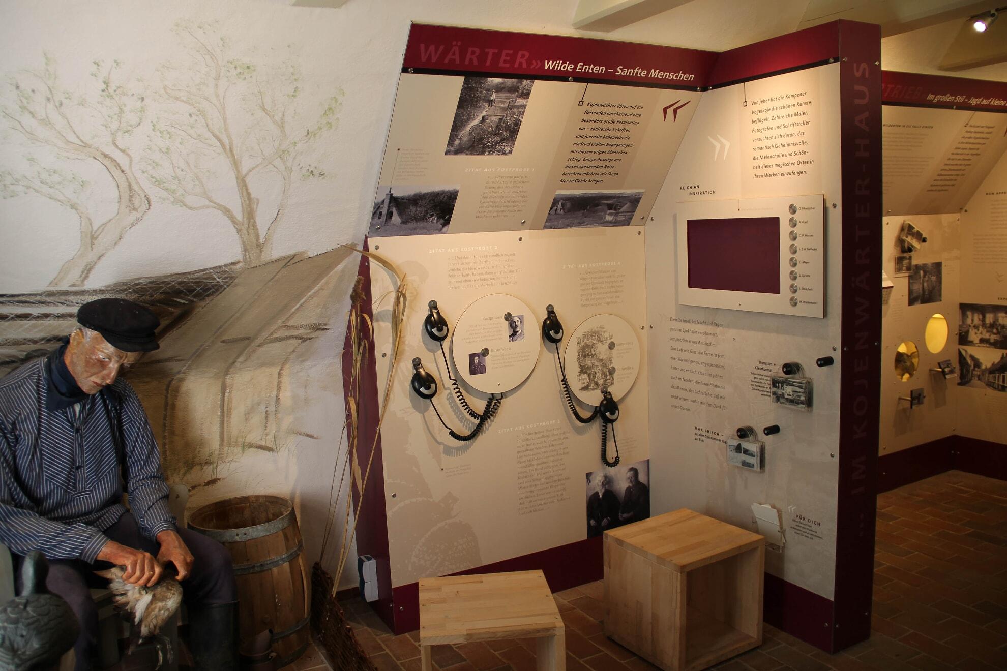 Ausstellung in der Vogelkoje