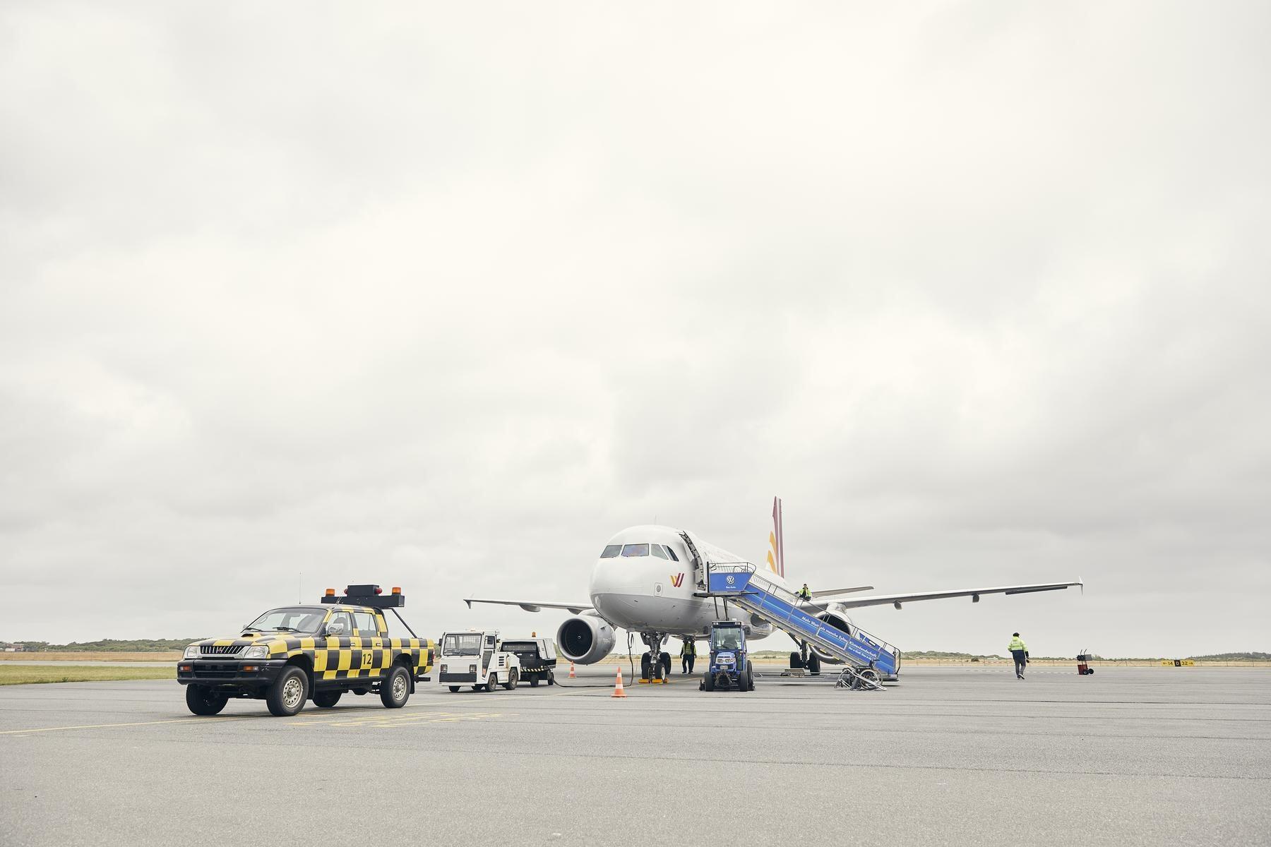 Der Sylter Flughafen