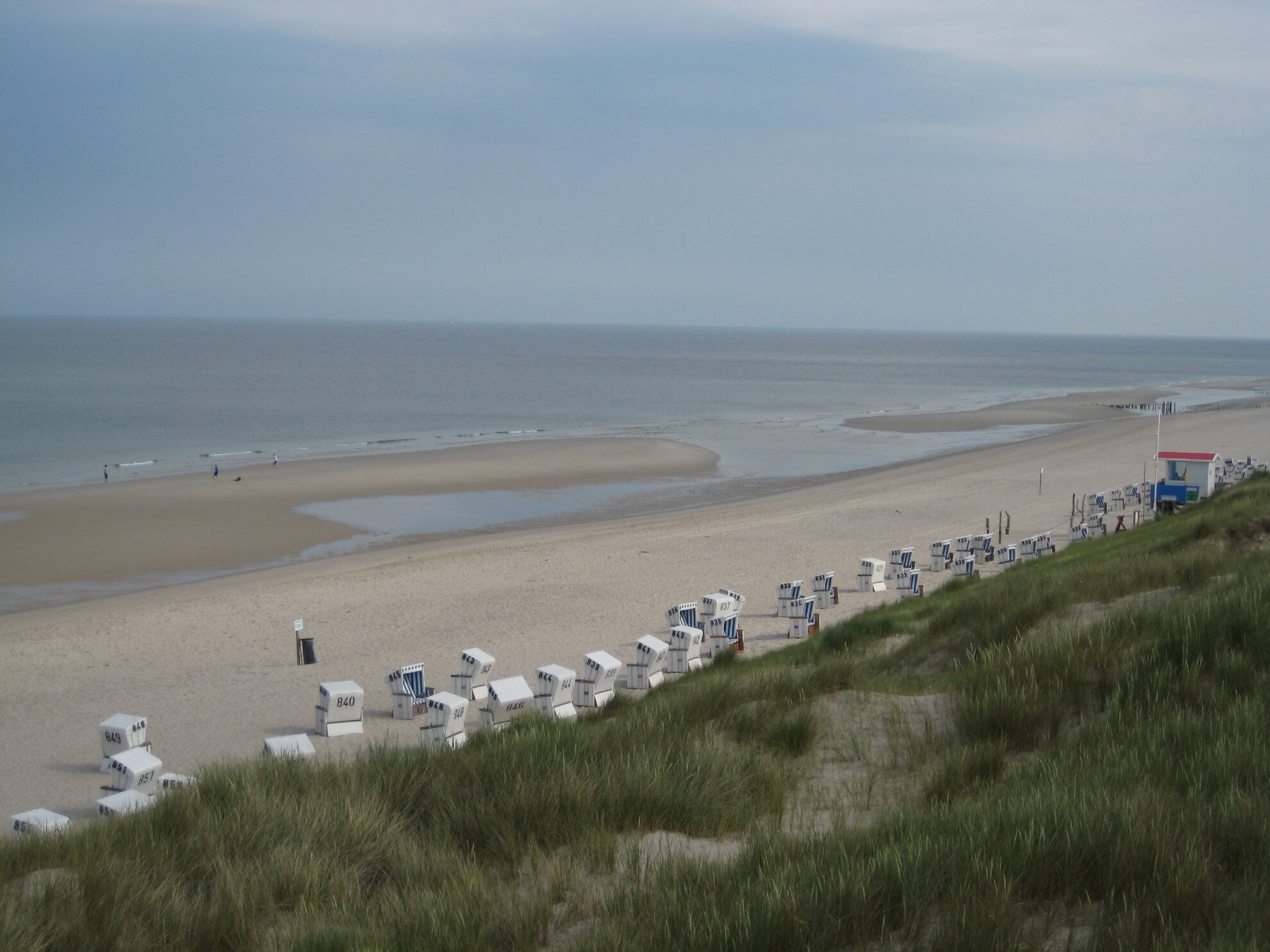 Strand am Klappholttal