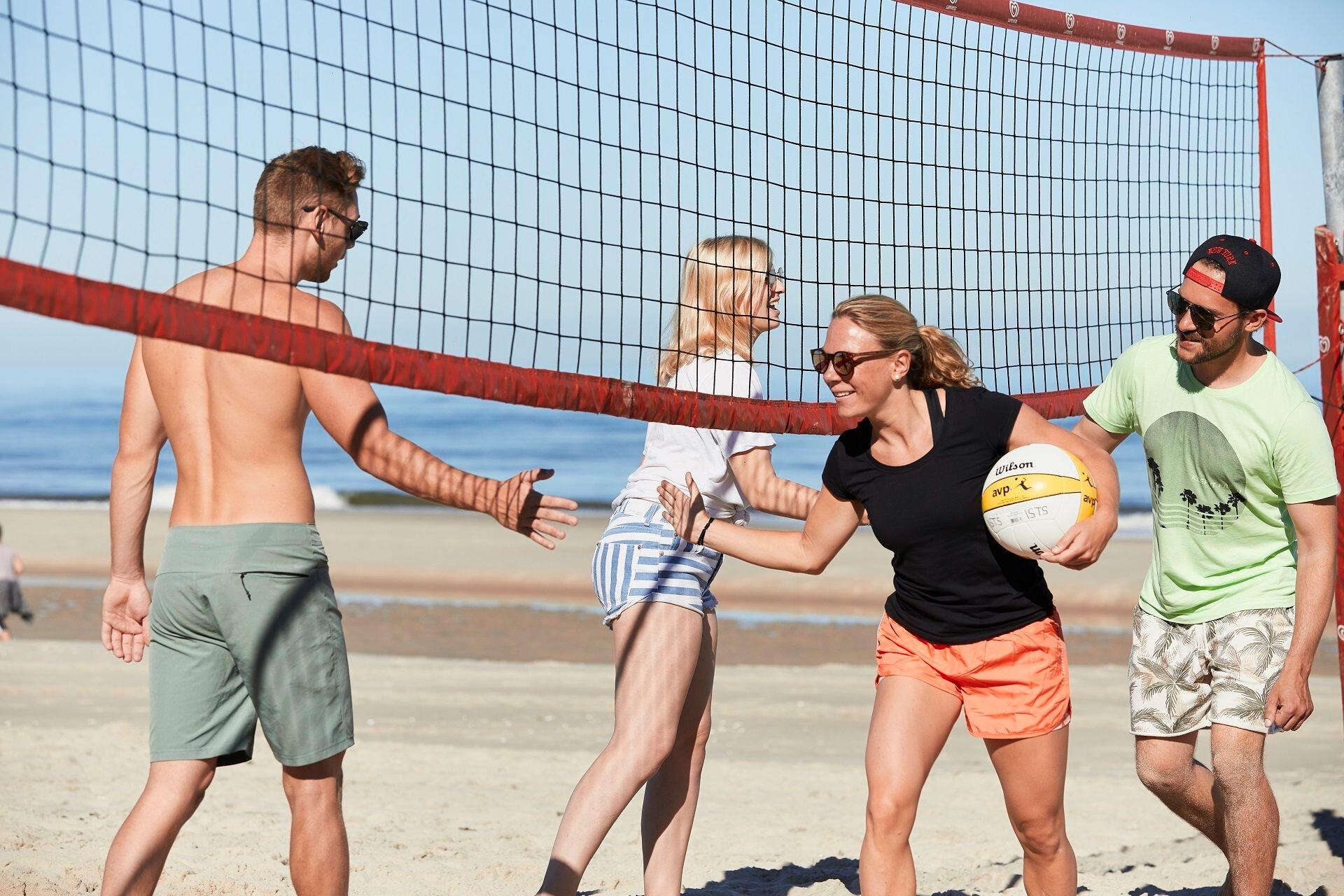 Volleyball am Funbeach