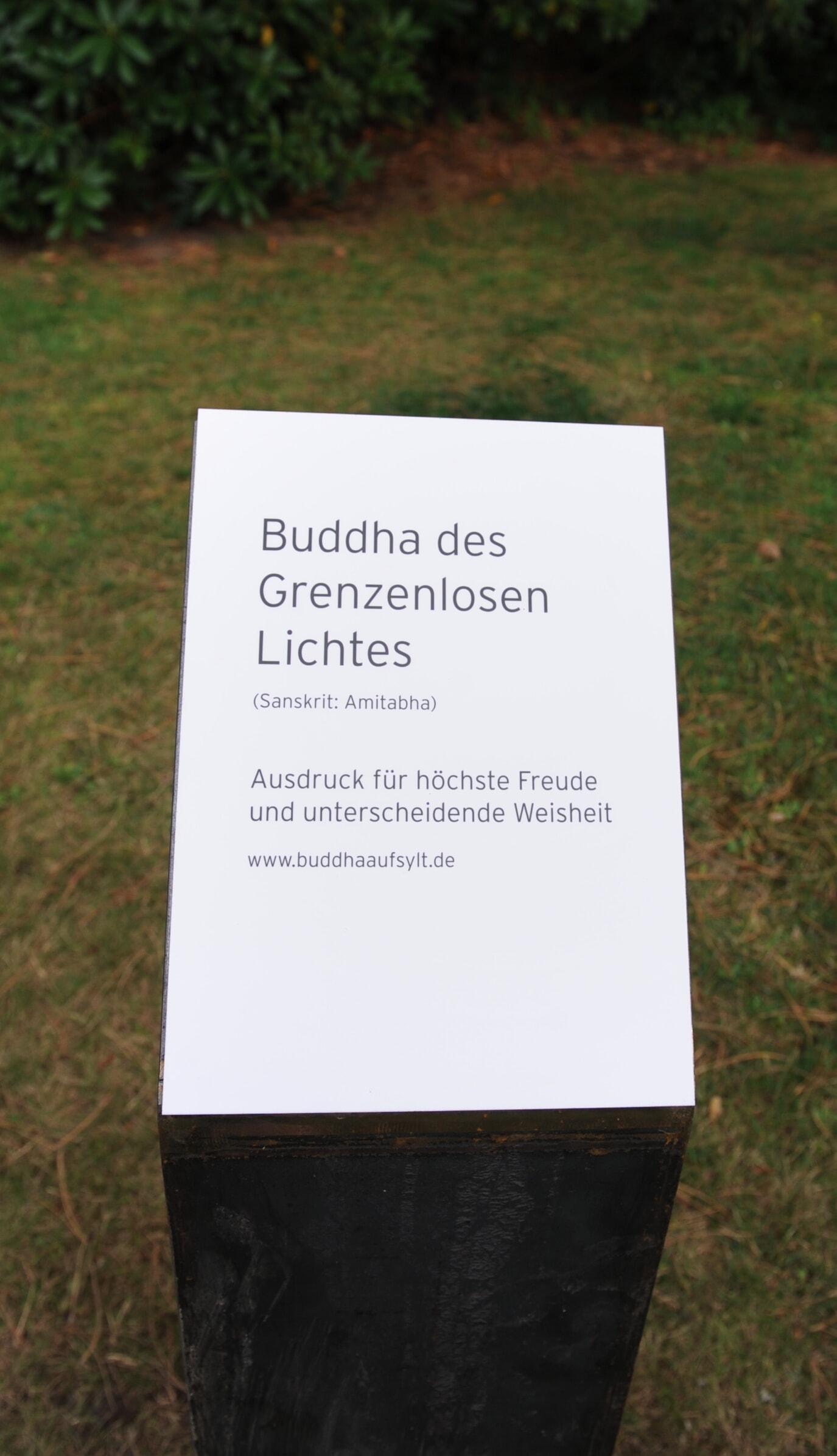 Ein Buddha in Kampen