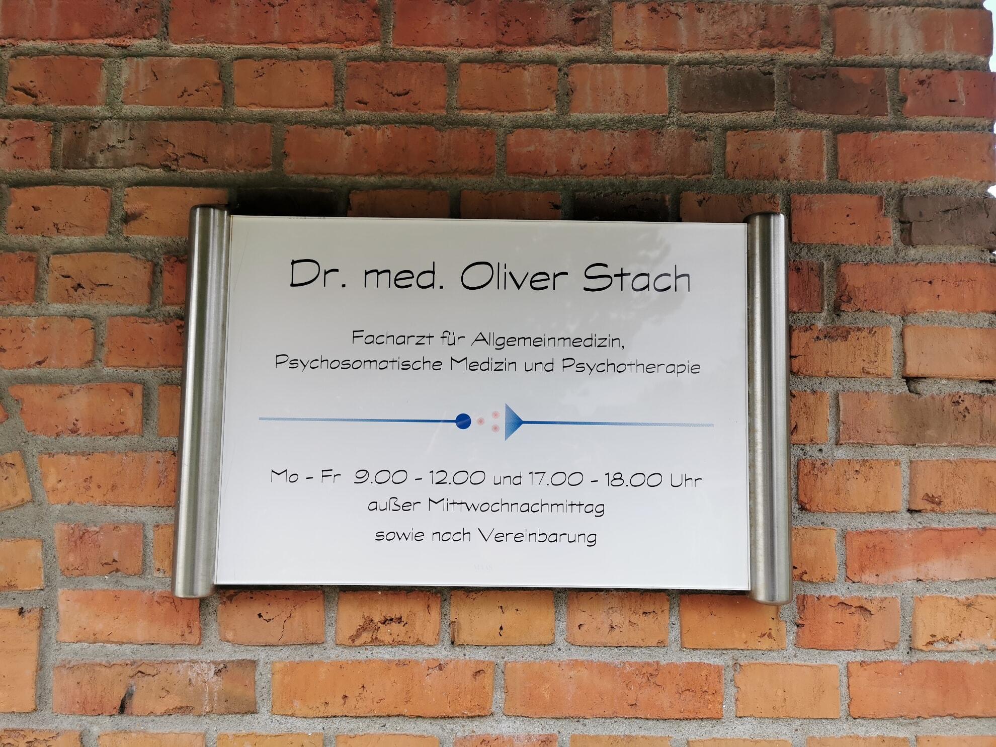Dr. med. Oliver Stach in Kampen
