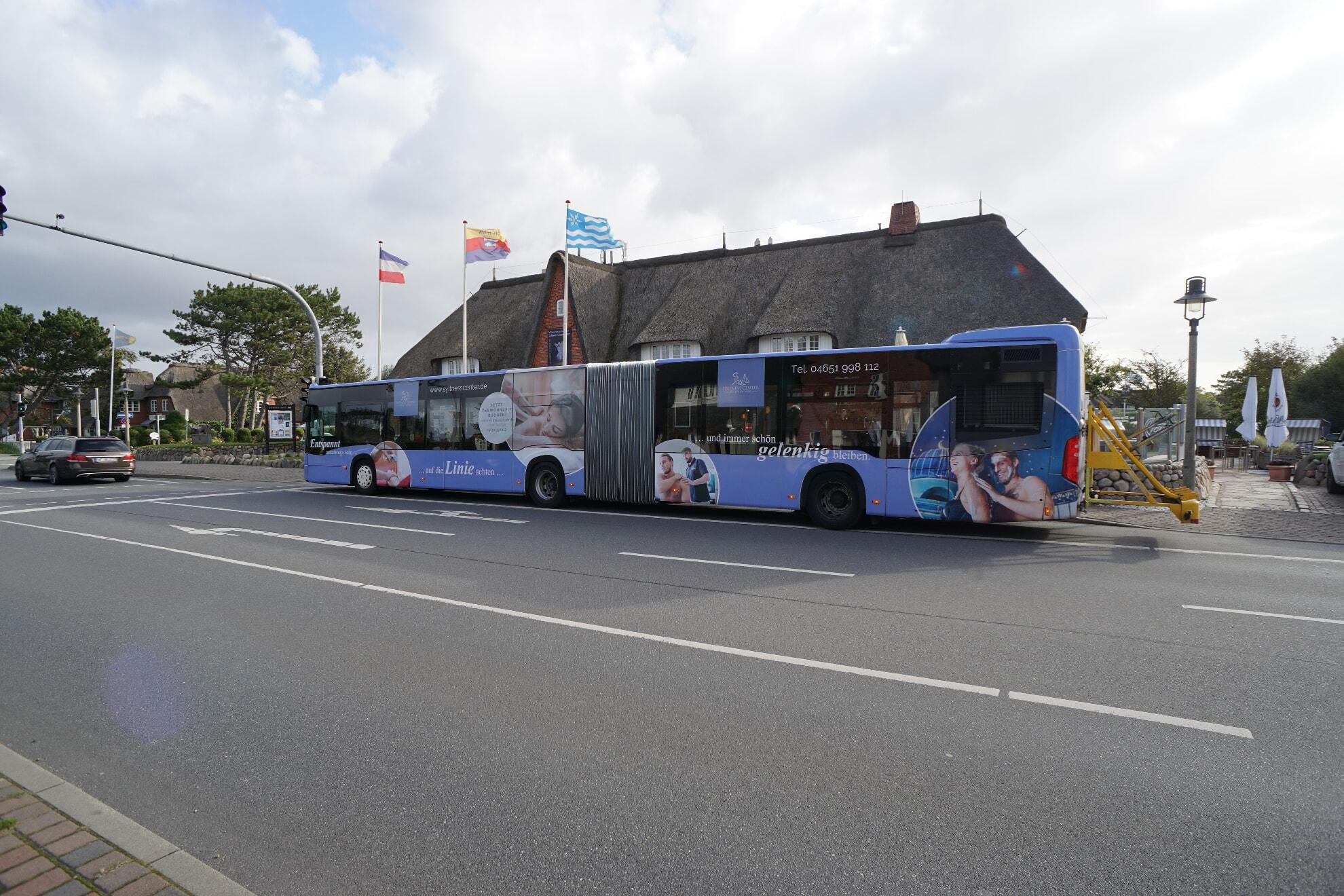 Bushaltestelle Kampen Mitte