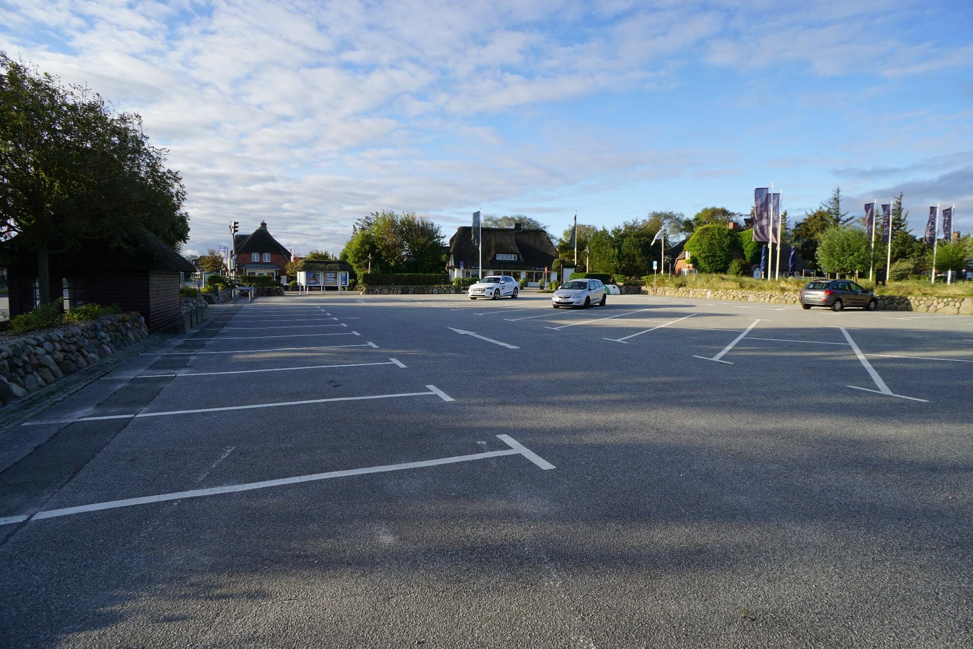 Parkplatz am Strönwai